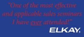 elkay logo and quote