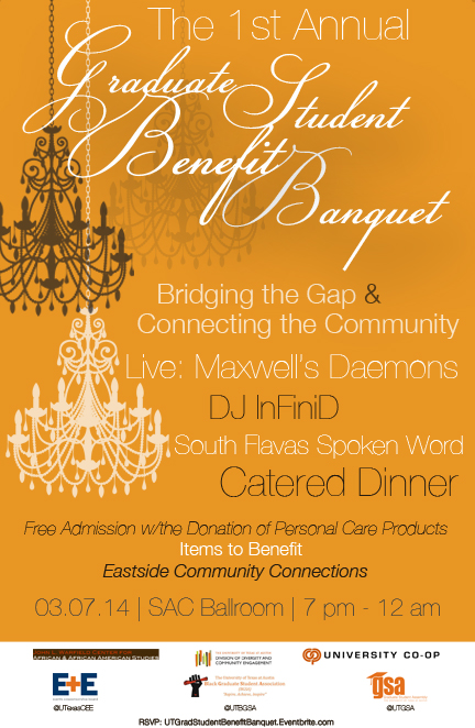Enjoy live music, spoken word, dancing, and a catered dinner on March 7th!
