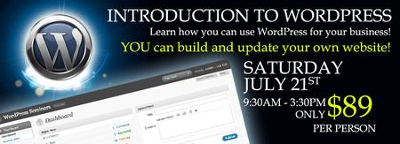 Workshop - Build your own Website and Blog with Wordpress...