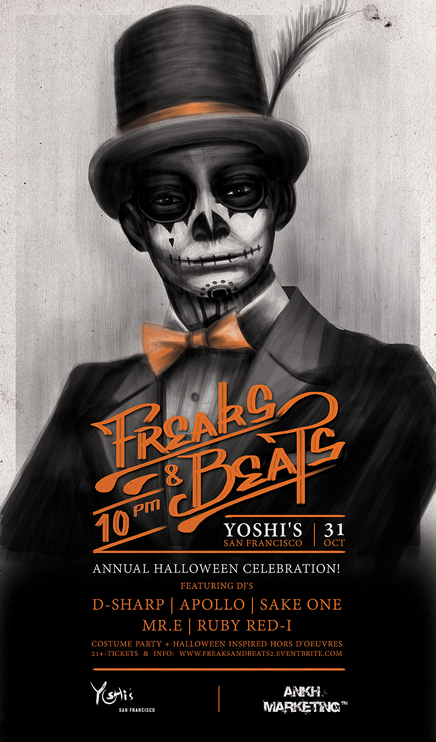 Freaks & Beats Halloween 2013
