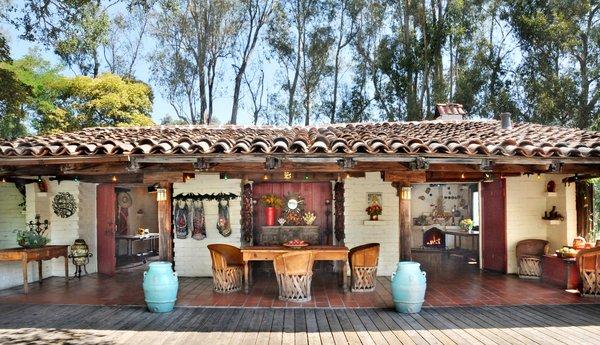 Dining area at Westerbeke Ranch