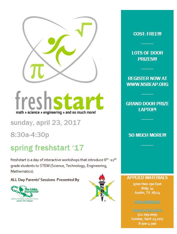 2017 FreshStart Flyer