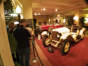 Classic cars at the Stutz
