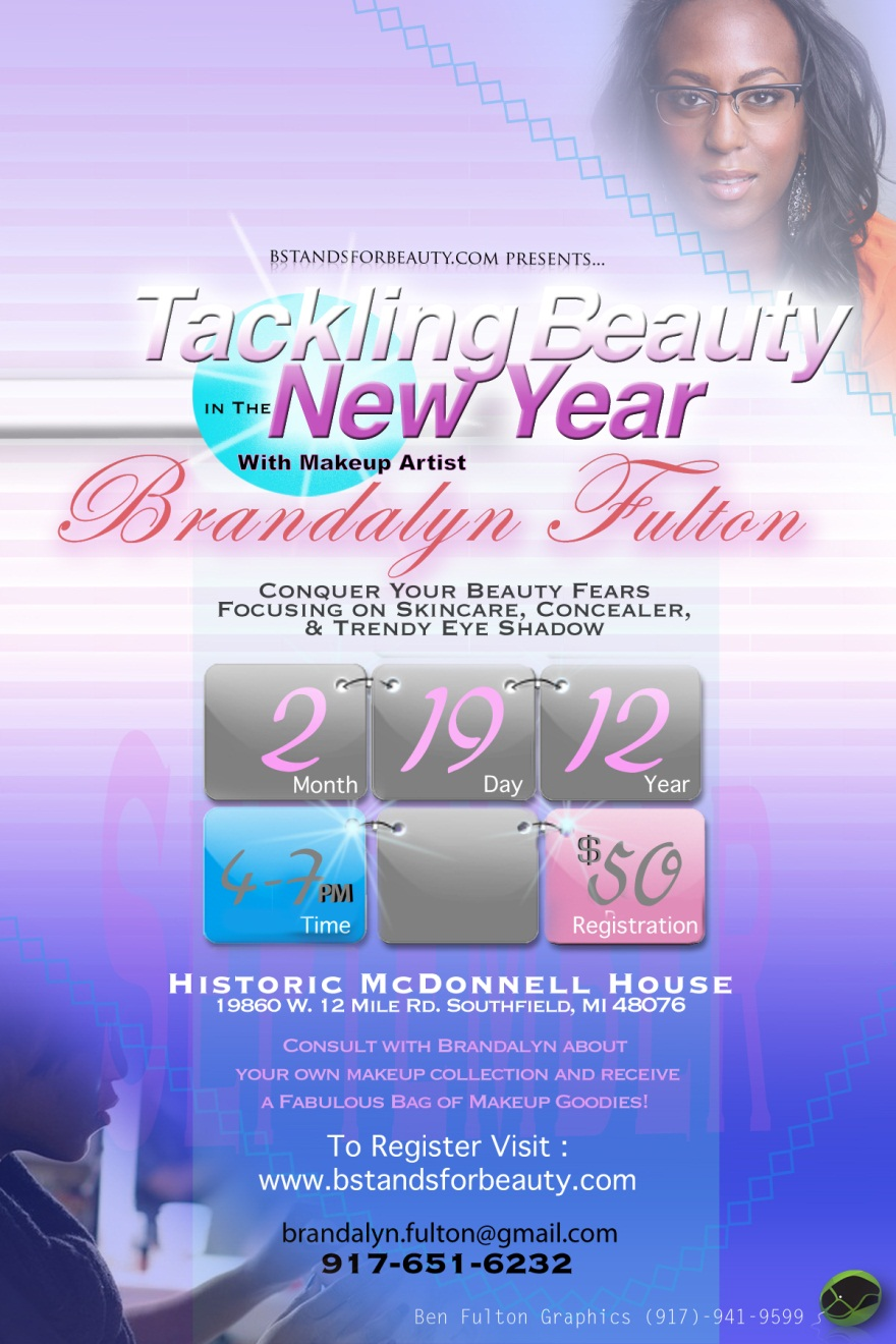 Tackling Beauty in the New Year Flyer