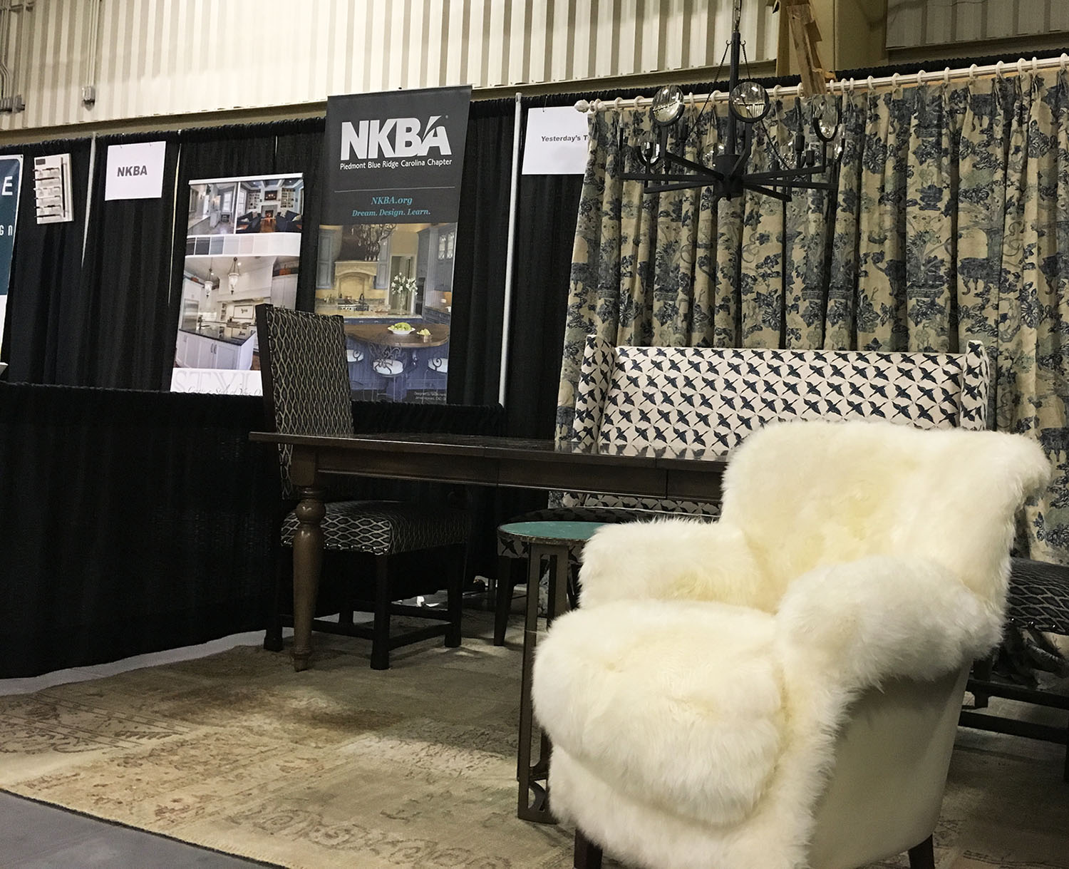 Browse exhibitor displays at the WNC Home Expo