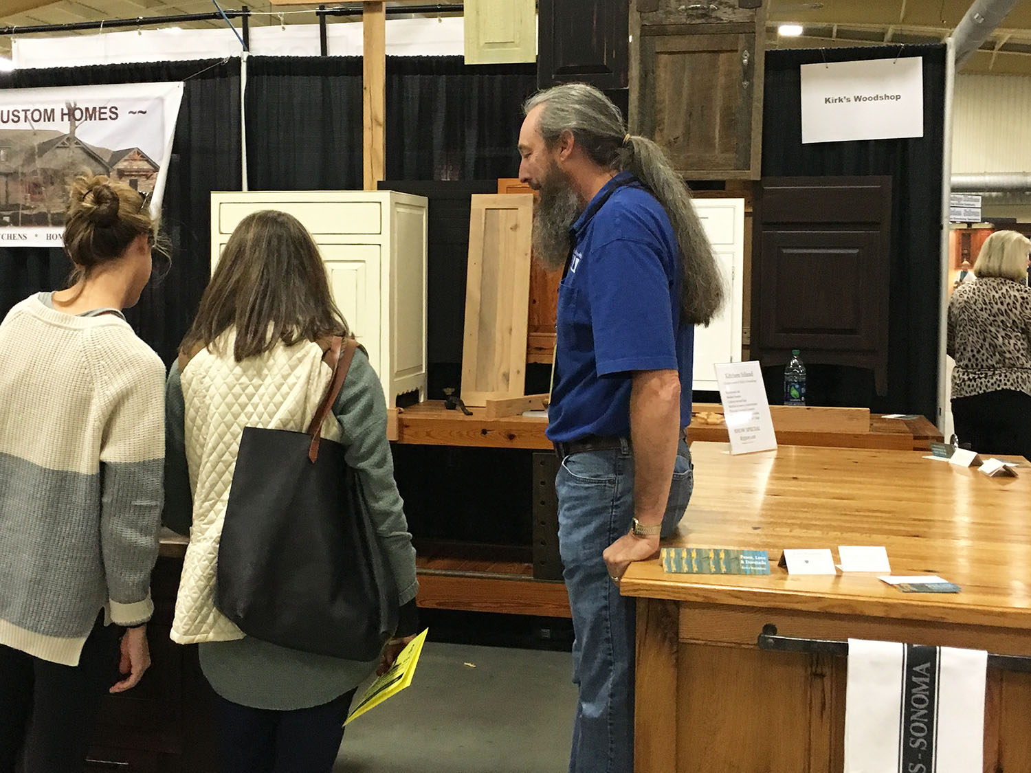 Meet artisans and fine woodworkers at the WNC Home Expo