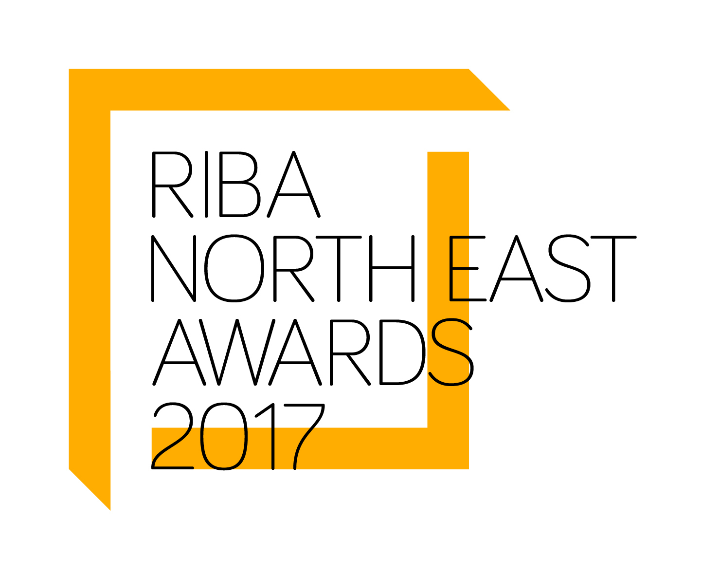 RIBA North East 2017 Awards Logo