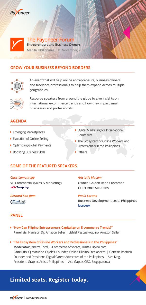 Payoneer Forum Manila 11.2017