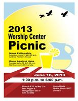 Worship Center Picnic