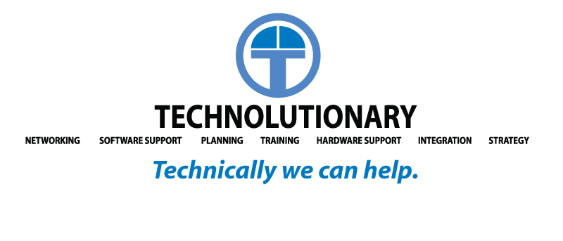 Technolutionary - Technically, We Can Help