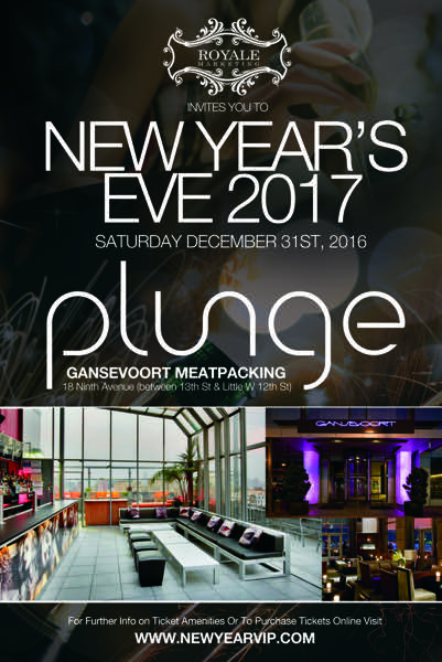 New Year's Eve at Gansevoort Meatpacking
