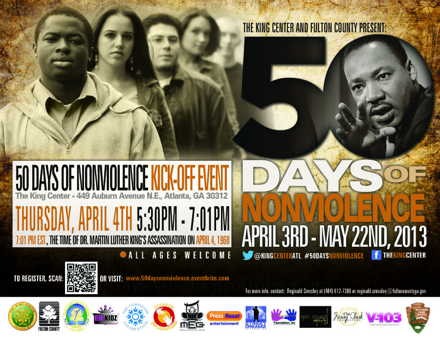 50 Days Nonviolence Kick-Off Event