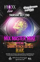 MIX MASTER MIKE + HYENA + SHARK ATTACK + DJ LEIF @ FLUXX...