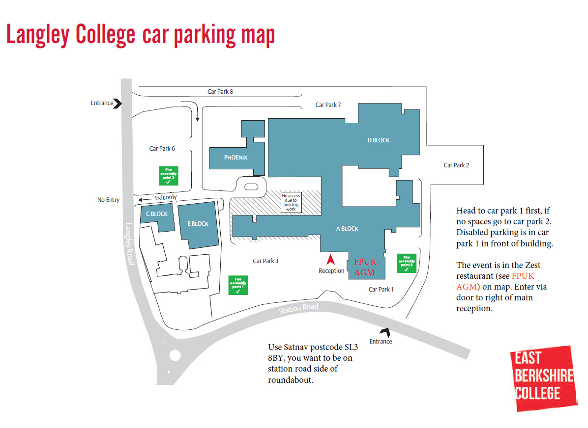Car parking map