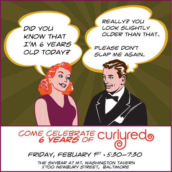 CurlyRed 6 year party