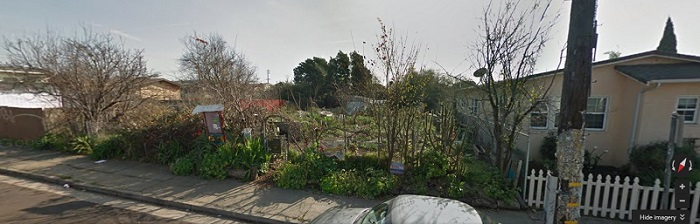 Ashby Community Garden from the street