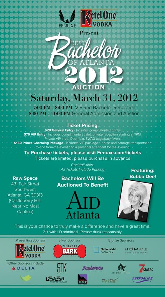 2012 Best Bachelor Auction | Fenuxe Magazine | Gay Atlanta