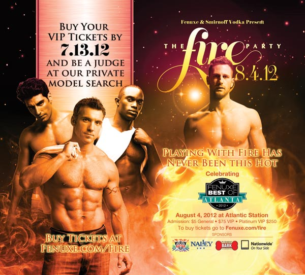 Fenuxe Magazine - Gay Atlanta - presents the Fire Party/Best of Atlanta