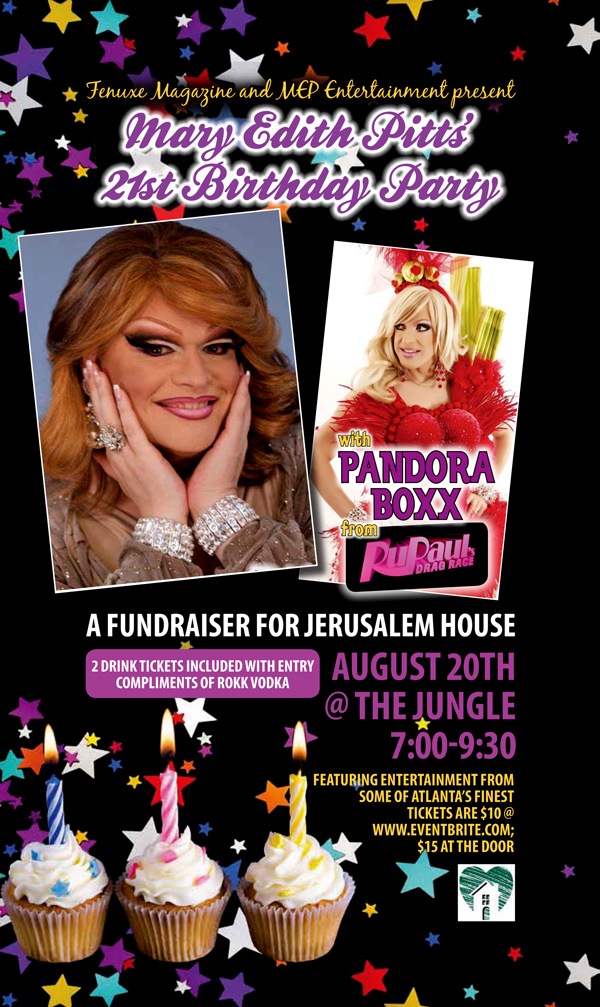 Mary Edith Pitt's Birthday Fundraiser for Jerusalem House