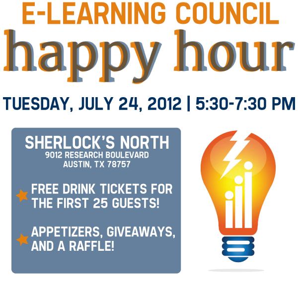 ELC July Happy Hour is Tuesday the 24th