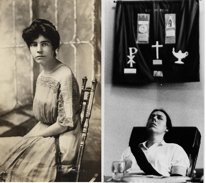 Alice Paul and Zoe Nicholson