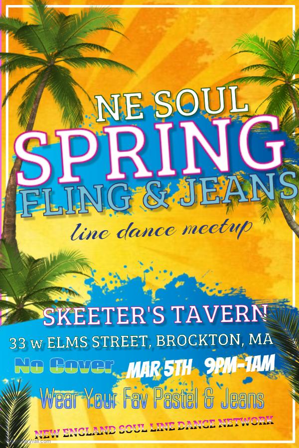 Spring Fling 2016 promo