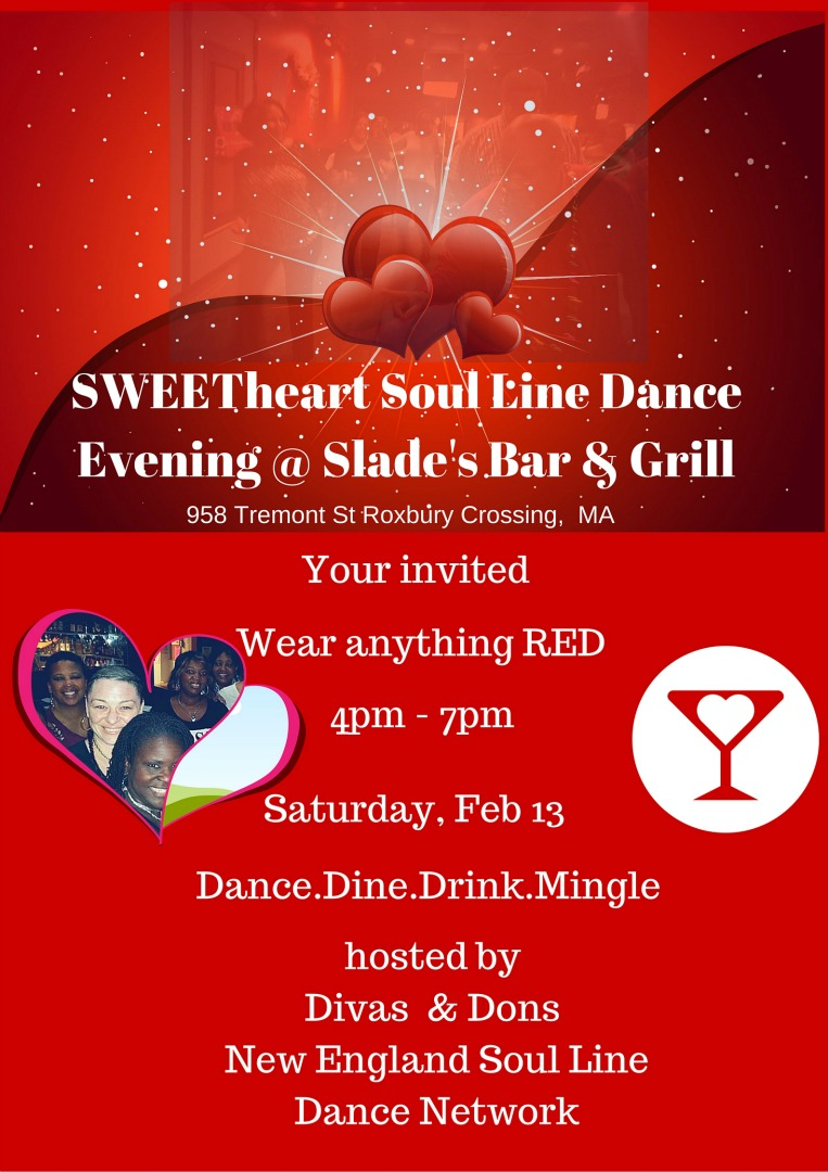 sweetheart line dance event