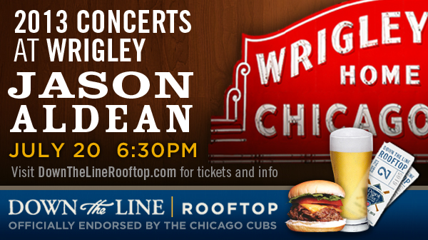 Jason Aldean at Wrigley Field