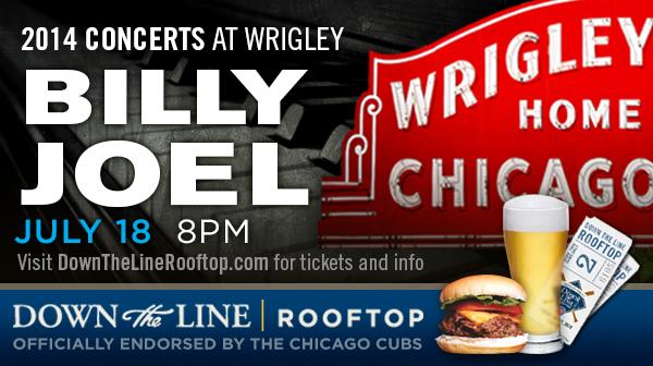 Billy Joel at Wrigley Field