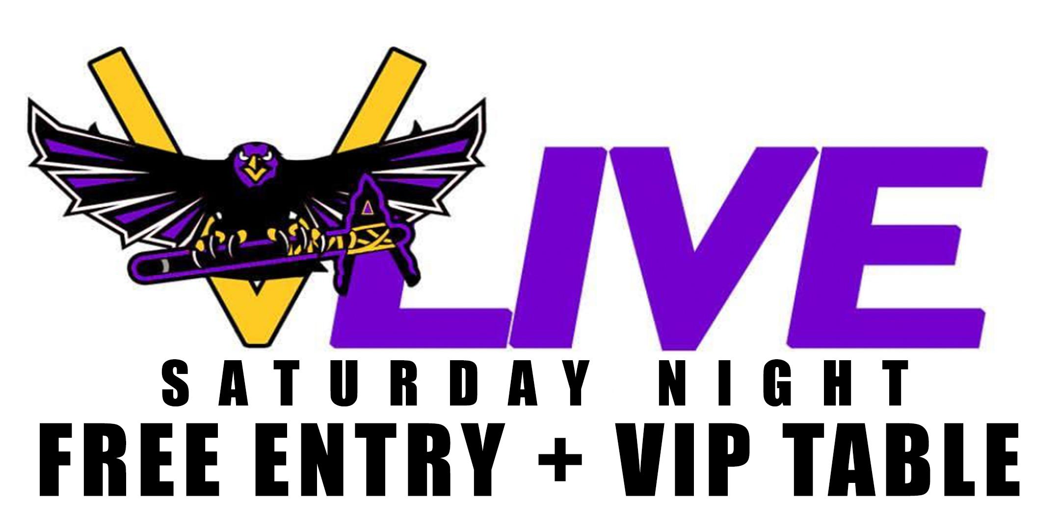 PARTY FREE THIS SATURDAY @ V-LIVE ATLANTA - FREE VIP ENTRY + VIP