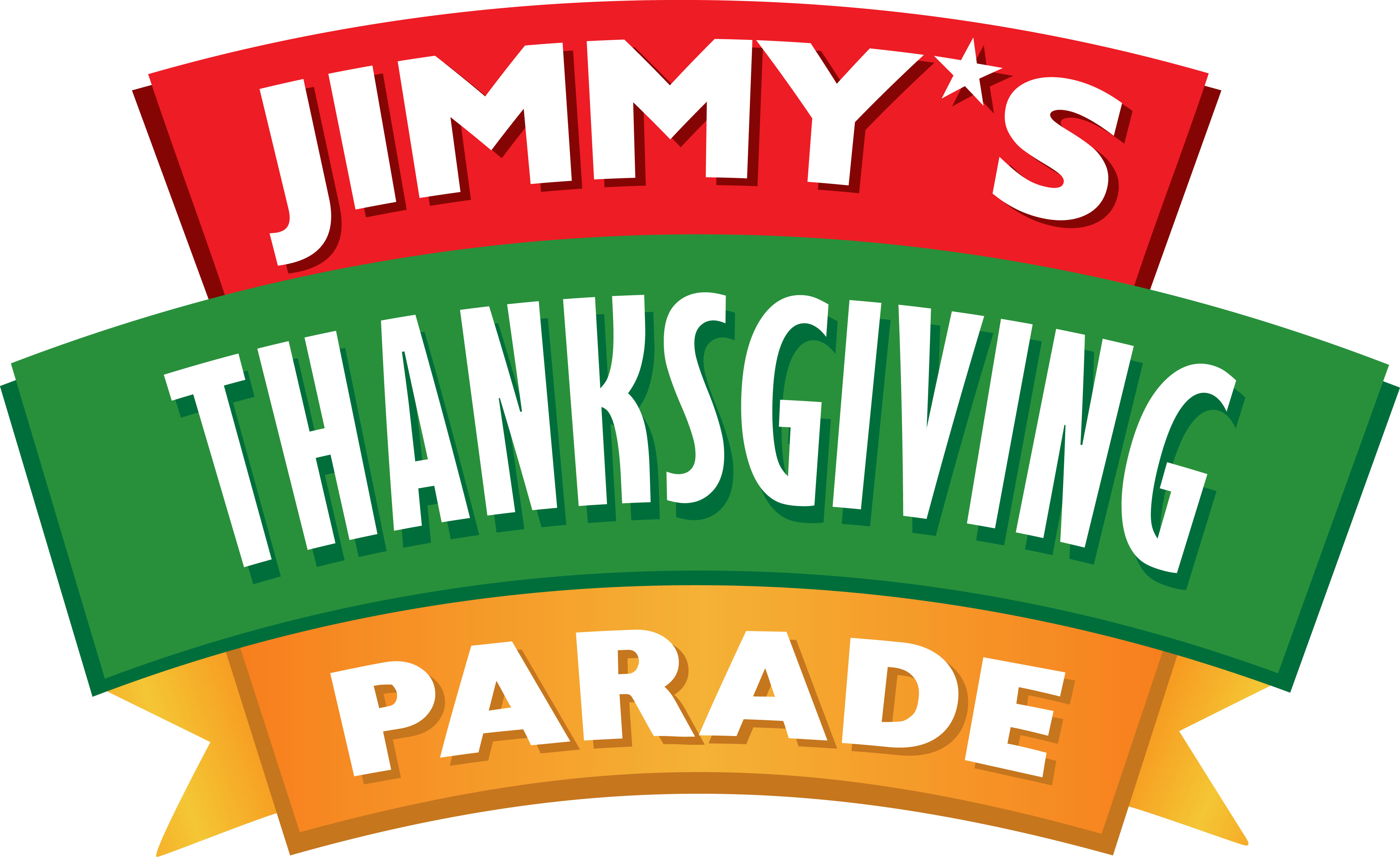 WELCOME TO JIMMY'S THANKSGIVING PARADE logo
