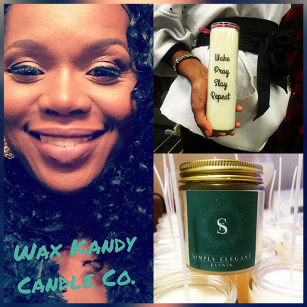 Kimberly Denise of Wax Kandy Candle Co.