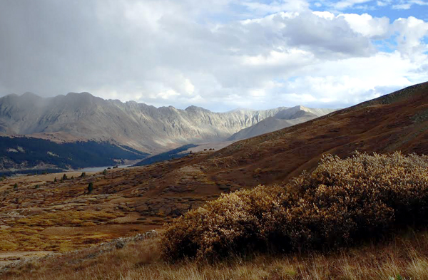 The Tenmile Range from the high country between Kokomo and Searle Passes on Section 8 of The Colorado Trail. Photo by Dean Krakel, Special to The Denver Post