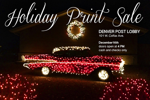 DENVER POST HOLIDAY PRINT SALE AD