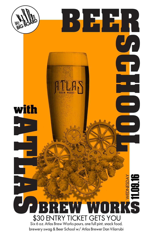 Big Board Beer School Atlas
