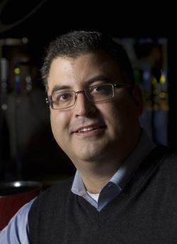 Labatt Vice President of Corporate Affairs, Charlie Angelakos
