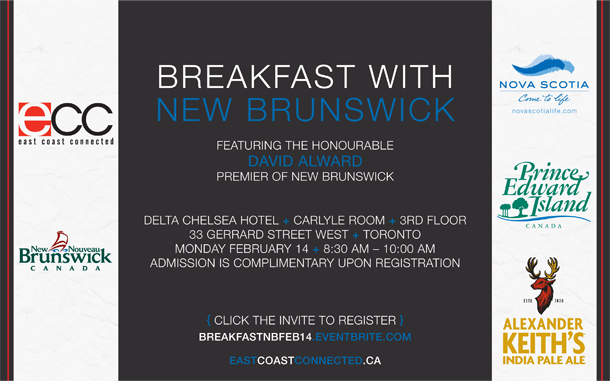 ECC's Breakfast with New Brunswick in Toronto