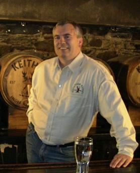 Graham Kendall, Alexander Keith's Brew Master Emeritus,