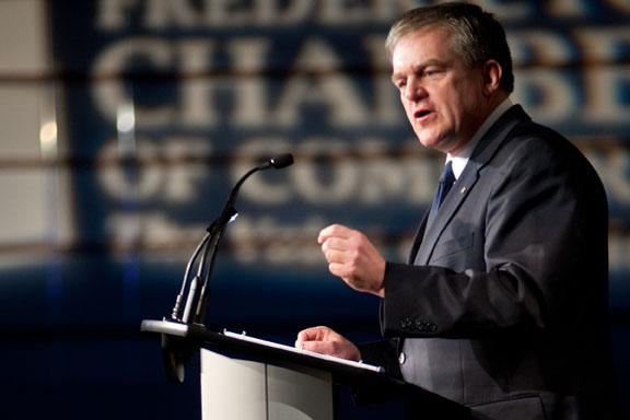 The Honourable David Alward, Premier of New Brunswick