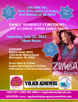 Dance Yourself Confident: The Ultimate Zumba Party