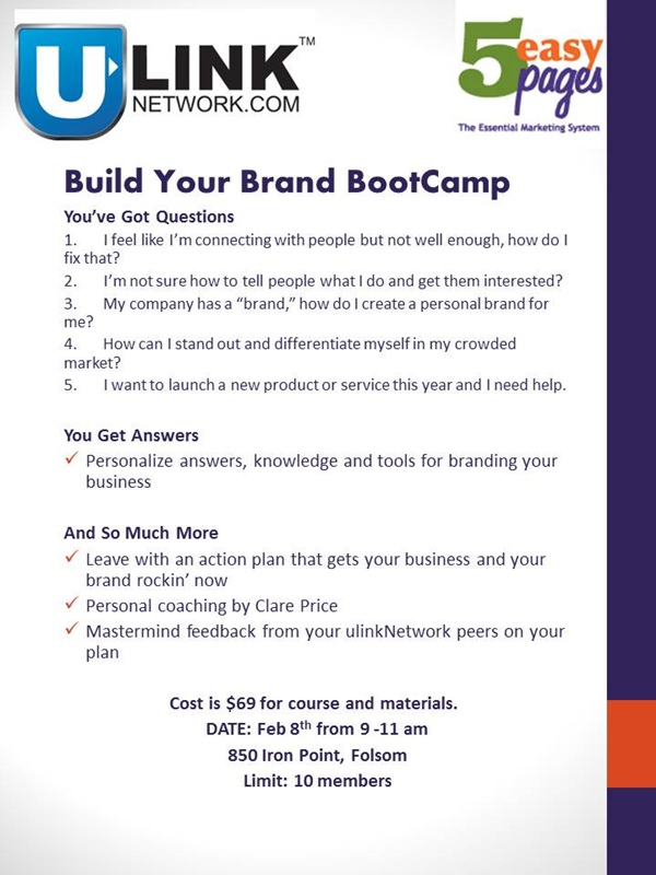 Build Your Brand BootCamp