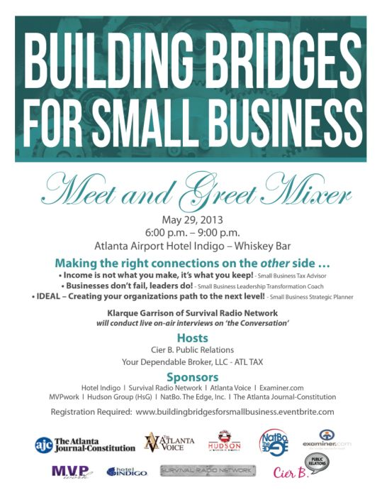 Small Business Mixer Flyer