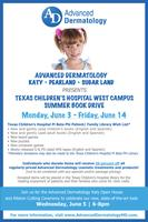 Texas Children's Hospital West Summer Book Drive at Advanced...
