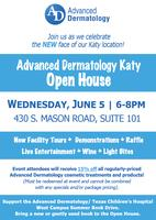 ADVANCED DERMATOLOGY KATY HOSTS OPEN HOUSE & RIBBON CUTTING