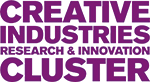 Creative Industries Research and Innovation Cluster Text logo