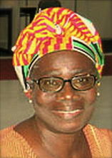 Dr. Mercy Amba Oduyoye, Director of the Institute of African Women in Religion & Culture at Trinity Theological Seminary Ghana, West Africa