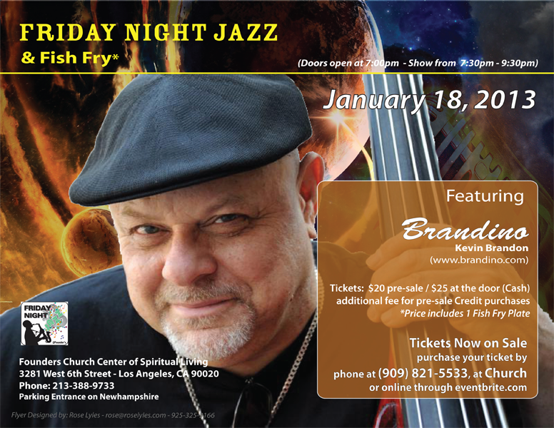 Friday Night Jazz with Kevin Brandon
