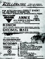 Xcellerated Presents: Annix (Konichi & Decimal Bass) in their...