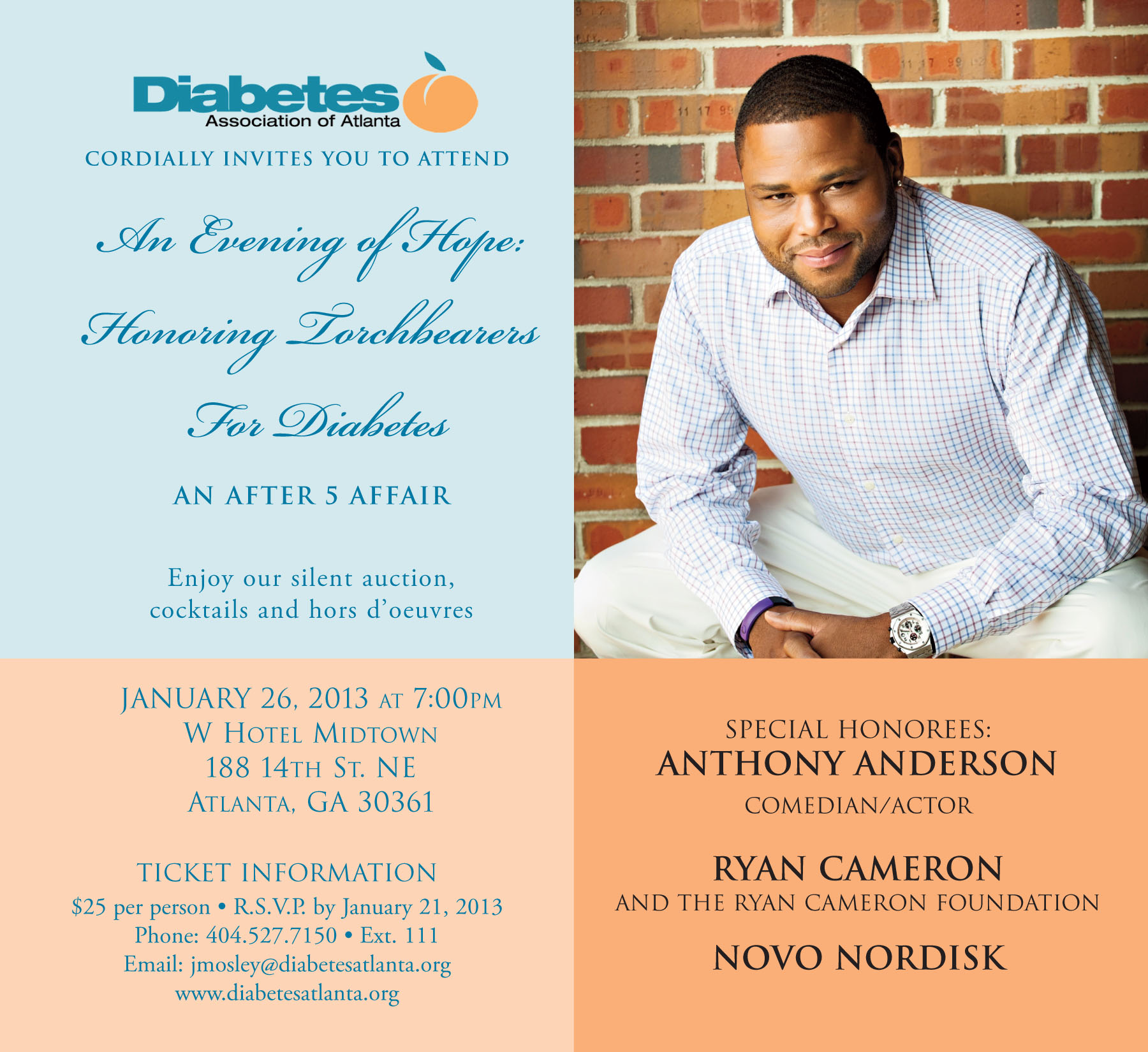 Evening of Hope Invitation