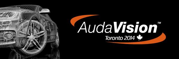 AudaVision Toronto 2014 Banner